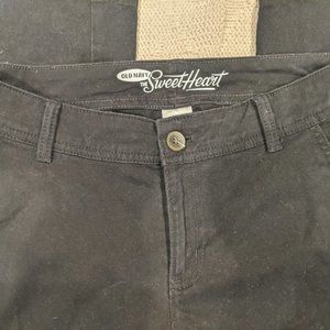 Black bootcut pants, Old Navy Sweetheart